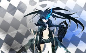 Black rock shooter by Gantzter127