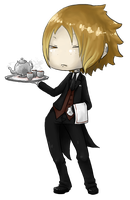 Butler Emil at your Service by ElfSama
