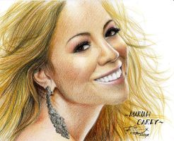 MARIAH CAREY by LivieSukma