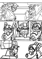 TRANSFORMERS ANIMATED COMIC STRIP by VectorMagnus2011