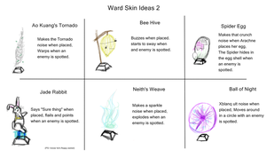 Ward Skins Ideas 2 by Gobityn