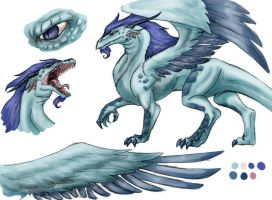 Revised Astral Wyrm by rainsingingdragon
