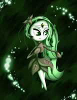 Legend of Zelda- Meloetta: Minuet Forme by The9Tard
