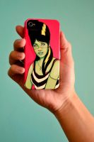 Frankette iPhone case by theyellowcoyote