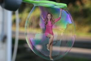 Jessica Alba Bubbled by blunose2772