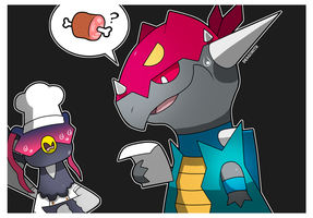 PKMNC - The Meat of the Problem by Dragonith