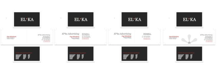 ElKa Bussines Cards by dzn-citizen