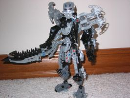 My Self-MOC: Toa of Earth by skull123246