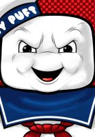 Stay Puft Marshmallow Man by Thuddleston