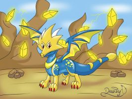 .:Star dragon:. by drazzy-the-dragoness