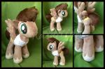 MLP:FiM - Rapid Action OC plushie by Rasaliina