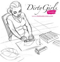 Dirty Girls - Cigar Roller by MisterHardtimes