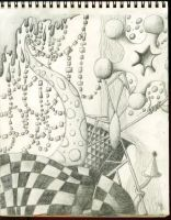 First Shaded Drawing by Albanach-Bhean