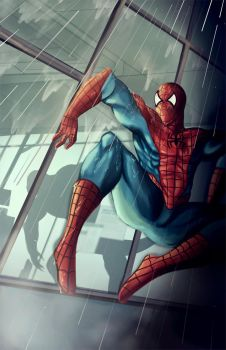 tribute tospiderman by leusomir