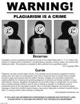 WARNING: Plagiarism is a Crime by darumarchen
