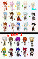 KMCAdopts 1-15 [CLOSED] by Shikimura