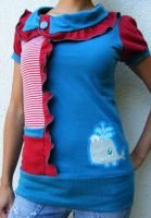 Sailor Whale Colab Top by 231705