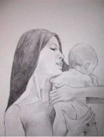 Mother And Child by kean