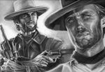 Clint Eastwood by etchesketcher