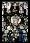 Ruthwell Stained Glass rld 01 by richardldixon