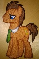 Dr. Whooves Patch by EthePony