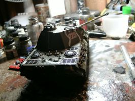 Tamiya 1/35 Panther A wip 6 by DelosQAndrews