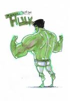 The incredible HULK serie1 by Lapsus-de-Fed
