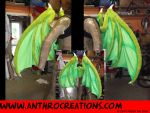 Foldable Dragon Wings New design by AtalontheDeer