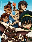 Team Avatar by lordmesa