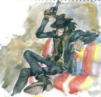 Jigen in colour by Dasha-KO