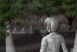 D.Gray-Man - Cemetary by Pan-Pan