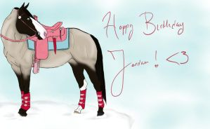Happy Birthday Jordan by RavenRidgeStables