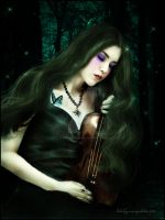 VIOLIN by Mayagraphic
