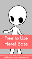 Free to Use Base {Here!} by Koru-ru