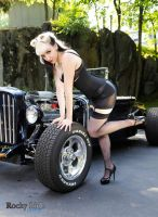 Pinup By Rocky Ride by ChloeVonCreepy