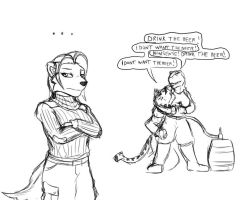 Sketchuary - 02-25-2012 by Drake-TigerClaw