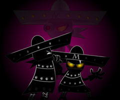 the Charro Negro vs Charro? by mayozilla