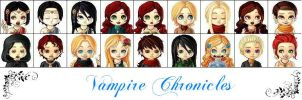 Vampire Chronicles by Segomichoco