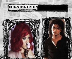 Headlines MJ Cover by brebre890