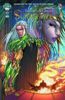 All New Soulfire #5 Cover A Color by vmarion07