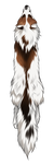 Red Marble Fox Pelt by TokoTime