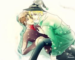 Drarry Holidays Clean ver by Nofavrell