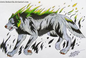 Wolf Design by TheKarelia