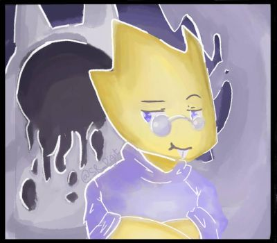 ALPHYS AND THE AMALGAMATE by DIGIT2211