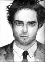 Robert Pattinson by jiehng
