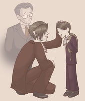 PW: Father and Son by androidgirl