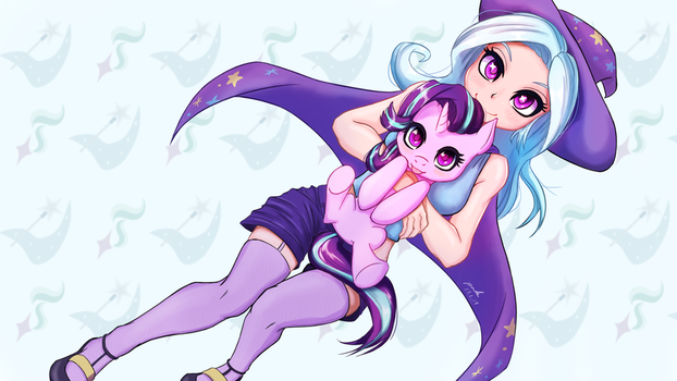 Trixie And Glimmer by The-Park
