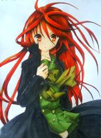 Shana the Flame Haze by 22DreamOfMidnight22