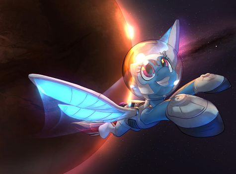 Fly Into Space (Collab with Vest) by Tsitra360