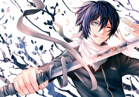Noragami - Yato and Sekki by Shumijin